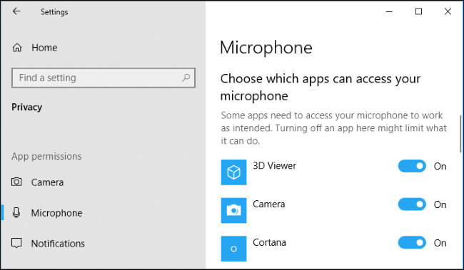 Check the microphone settings in Windows 10 - Step 3