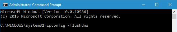DNS PROBE FINISHED NXDOMAIN - Use Command Prompt - Flush DNS