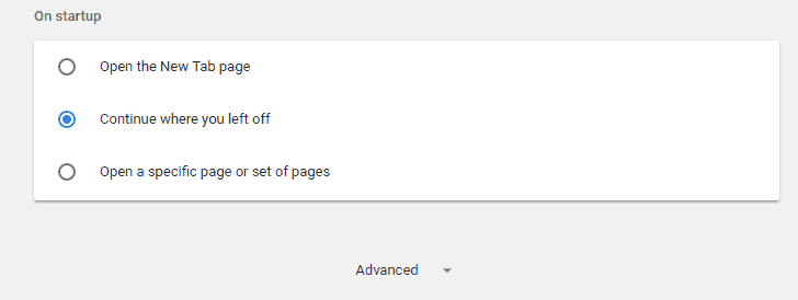 ERR_NAME_NOT_RESOLVED - Disable the DNS Prefetching in Chrome - Step 2