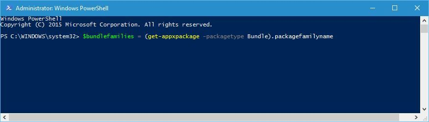 Emerging issue 70008 - Use PowerShell - Step 3