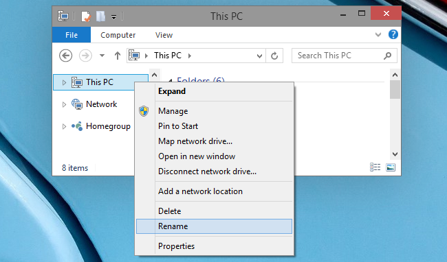 How do I rename This PC in Windows to My Computer - image 1