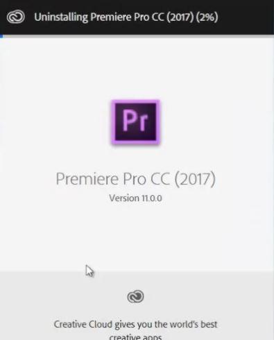 Reinstall Premiere Pro
