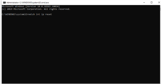 Default Gateway Not Available - Reset TCP/IP with the Netsh command