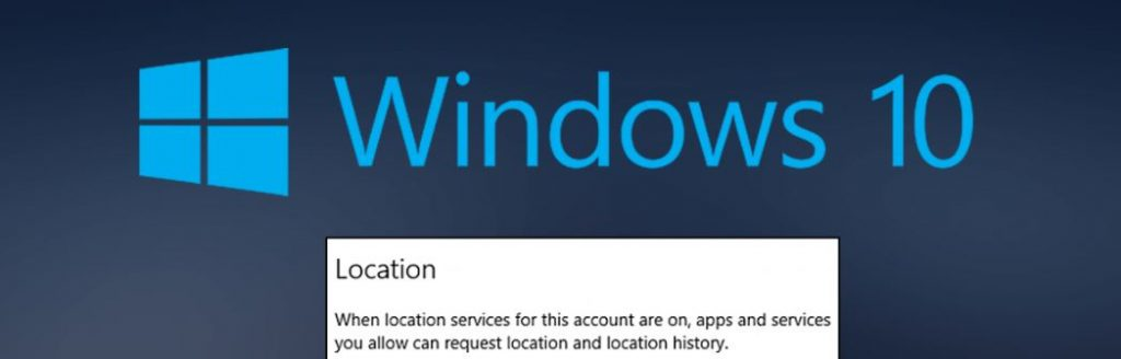 What is Location Services in Windows 10