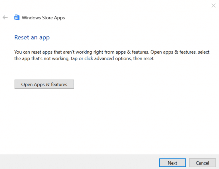 XBOX - Run your Windows Store Troubleshooter - Step 5 and 6
