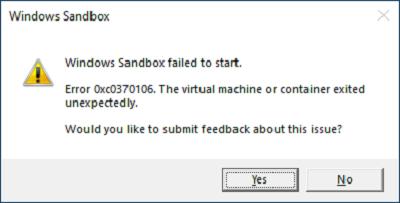 error 0xc030106
