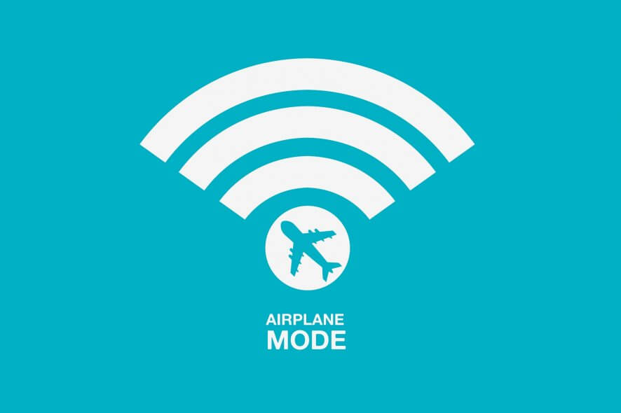 The reason Windows 10 is stuck in Airplane mode