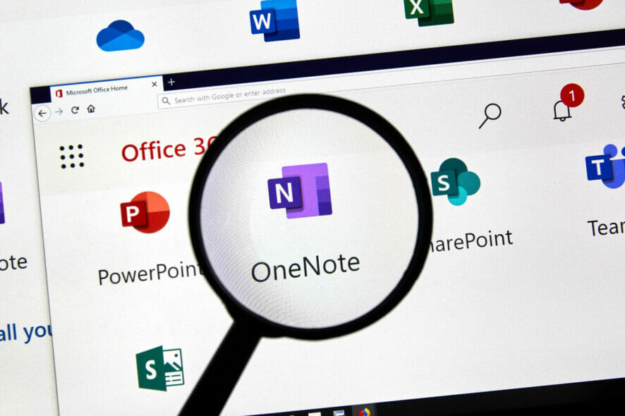 Why doesn't OneNote sync