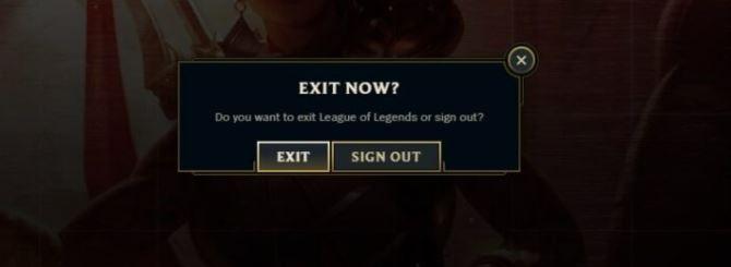 Fix the unexpected error when logging into League of Legends