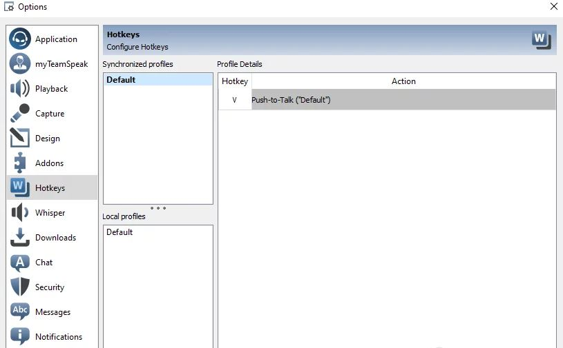 To solve the problem of Push-To-Talk not working in TeamSpeak, follow these steps