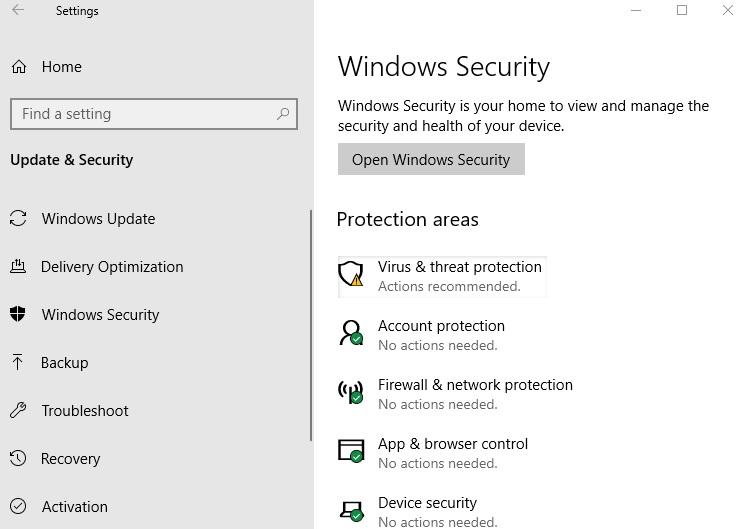 How to fix Windows Backup error code 0x800700E1