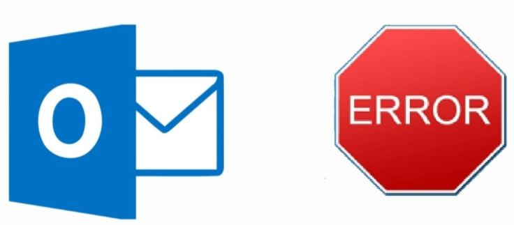 What causes Outlook error code 0x8007007e when sending and receiving