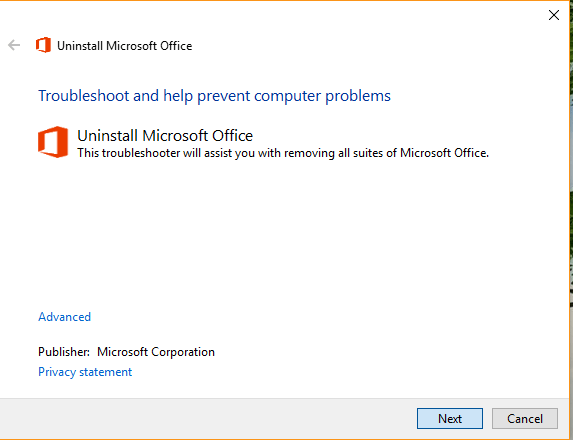 "How to solve the ""Office 2016 won't install"" problem on Windows 10"