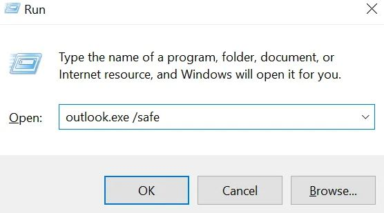 "To fix the ""Outlook hangs when loading a profile"" error, follow these steps"