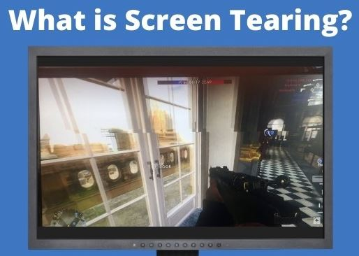 What causes screen tearing in Windows 10