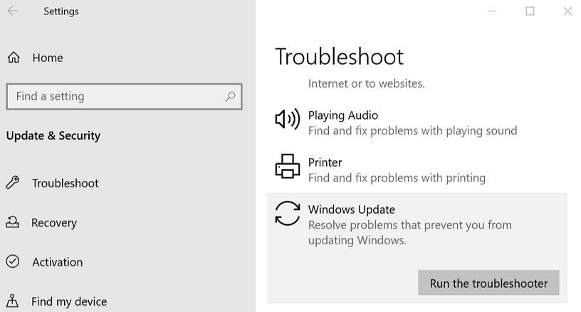 How to fix Windows Update error C80003F3